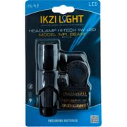 IKZI Light koplamp Mr Beam 1w led batterij stuurbocht