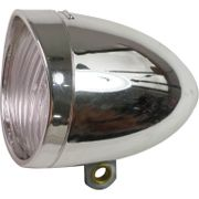 Lamp v led light 3led koplamp retro chroom