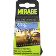 Zadeldek Mirage Sport/Race - stretch nylon - zwart