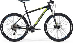 BIG SEVEN 600  MATT BLACK/YELLOW/BLUE 21.5