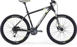 BIG SEVEN 300 MATT METALLIC BLACK/WHITE/GREEN 18.5