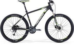 BIG SEVEN 300 MATT METALLIC BLACK/WHITE/GREEN 20
