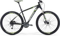BIG NINE 300 MATT METALLIC BLACK/WHITE GREEN 17