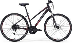 CROSSWAY 300 MATT BLACK/RED/GREY 54 CML