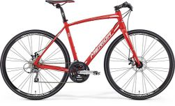 SPEEDER 100 MATT RED/WHITE 52CM