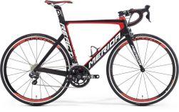 REACTO 7000-E MATT BLACK/RED S