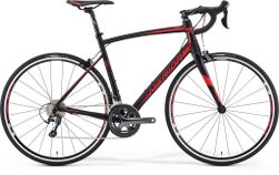 RIDE 300-30 SILK BLACK/RED M-L