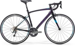 RIDE 300-30 JULIET METALLIC BLACK/VIOLET/BLUE M-L