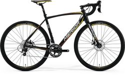 CYCLOCROSS 500 METALLIC BLACK/YELLOW/RED S-M
