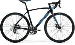 CYCLOCROSS 300 METALLIC BLACK/BLUE M-L