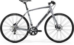SPEEDER 900 SHINY DARK SILVER/BLACK 56CM