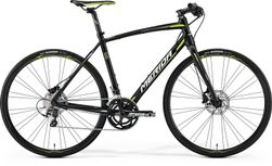 SPEEDER 500 MATT BLACK/GREEN/WHITE 59CM