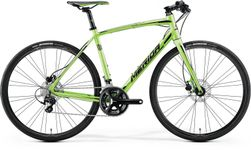SPEEDER 400 GREEN/BLACK  54CM