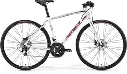 SPEEDER 400 JULIET MATT PEARL WHITE/BERRY  54CM