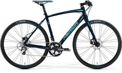 SPEEDER 300 JULIET METALLIC BLACK/SKY BLUE 54CM