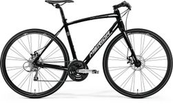 SPEEDER 100 MATT BLACK/WHITE 54CM