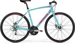 SPEEDER 100 JULIET MATT MINT/RUBINE RED 47CM