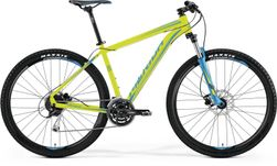 BIG NINE 100 MATT LIME/BLUE 19""