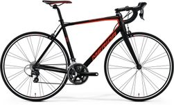 SCULTURA 400 MATT BLACK/RED M-L