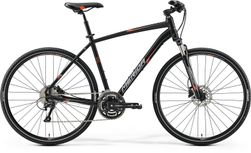 CROSSWAY 300 MATT BLACK/RED/GREY 55CM