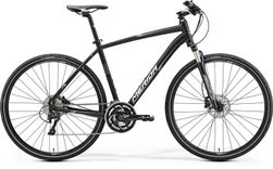 CROSSWAY XT EDITION MATT BLACK/GREY/WHITE 52CM