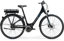 E-SPRESSO CITY 800 EQ MATT BLACK/BLUE 53CM