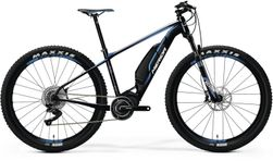 E-BIG NINE XT-EDITION MATT BLACK/BLUE/WHITE M 43CM