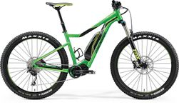 E-BIG TRAIL 500 GLOSSY GREEN/BLACK M
