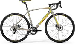 CYCLO CROSS 400 SILK TITAN/YELLOW/RED M-L-54CM