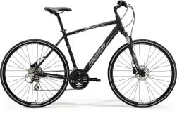 CROSSWAY 20 MATT BLACK/WHITE/GREY M-L