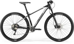 Merida BIG NINE XT-EDITION MATT BLACK/SILVER L-19