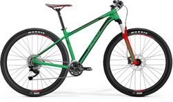 BIG NINE 100 MATT GREEN/RED/DARK GREEN L