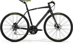SPEEDER 100 MATT BLACK/GREY/YELLOW M-L 54CM