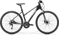 CROSSWAY XT-EDITON MATT BLACK/SHINY SILVER L LADIE