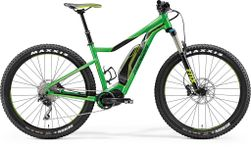 E-BIG TRAIL 500 GLOSSY GREEN /BLACK L 49CM
