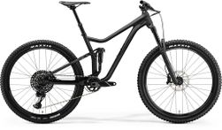 ONE FORTY 800 MATT BLACK/SHINY BLACK L 19