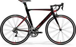 REACTO 500 METALLIC BLACK/RED/SILVER M-L 54CM