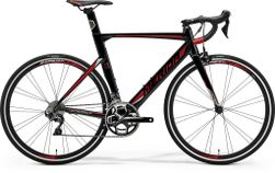 REACTO 500 METALLIC BLACK/RED/SILVER L 56CM