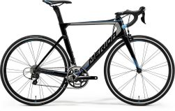 Merida REACTO 4000 METALLIC BLACK/SILVER/BLUE M-L 54CM