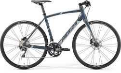 SPEEDER 500 MATT DARK GREY/GREY/WHITE M-L 54CM
