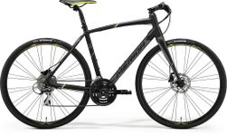 SPEEDER 100 MATT BLACK/YELLOW/GREY S-M 52CM