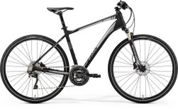 CROSSWAY XT EDITION MATT BLACK/SHINY SILVER XL 59C