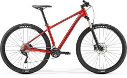 "BIG NINE 300 METALLIC RED/DARK RED/BLACK L 18.5"""