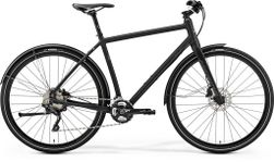 CROSSWAY URBAN XT MATT BLACK/REFLECTIVE BLUE L 55C