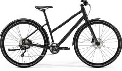 CROSSWAY URBAN XT MATT BLACK/REFLECTIVE BLUE L 54C