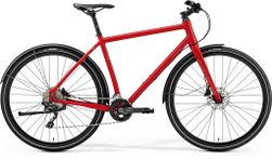 CROSSWAY URBAN 500 MATT MET RED/REFLECTIVE RED S-M