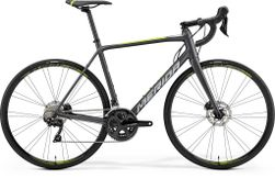 SCULTURA DISC 400 MATT DARK SILVER/GREEN M-L 54CM