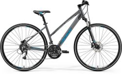 CROSSWAY 40 DARK SILVER/BLUE M 50CM LADIES