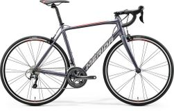 SCULTURA 300 SILK ANTHRACITE/RACE RED S-M 52CM