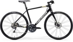 SPEEDER 900 METALLIC BLACK/SILVER GOLD S-M 52CM